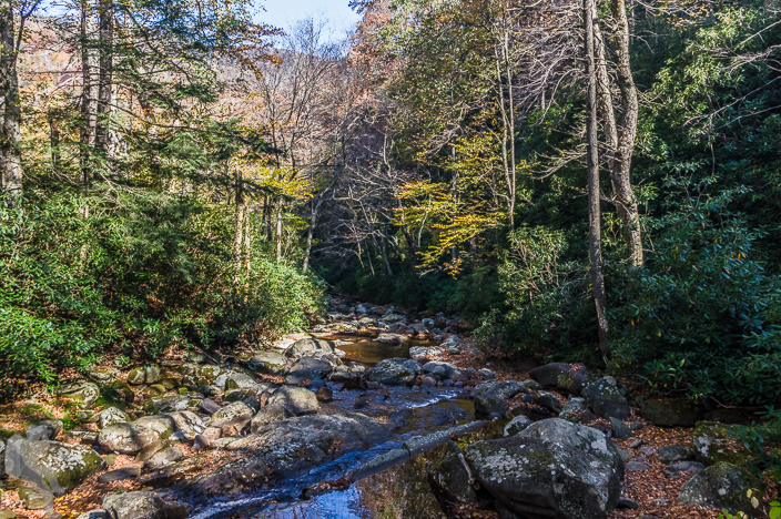 River Prong on the Chimney Tops Trail, Great Smoky Mountains Nat