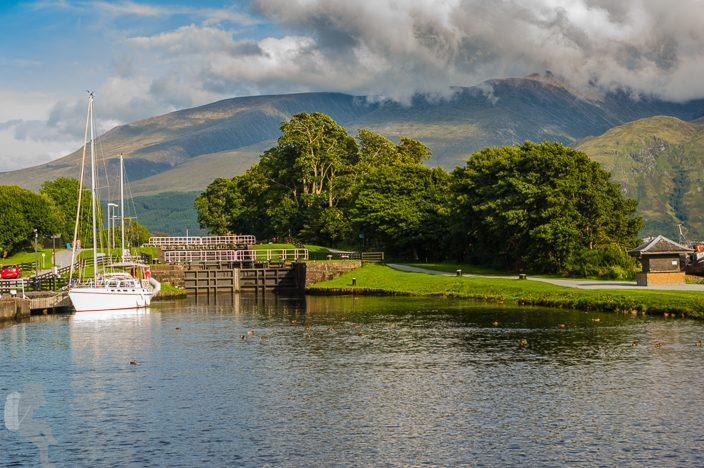 Locks of the Caledonian Canal